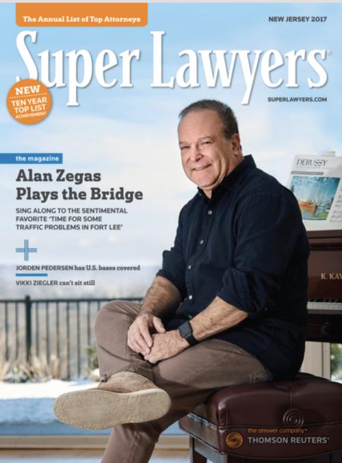 Alan Zegas sitting on bench